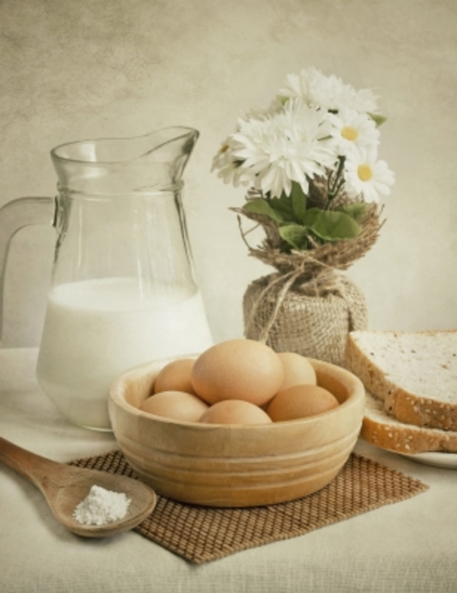 eggs are healthy and nutritious for our insides, our skin and our hair.
