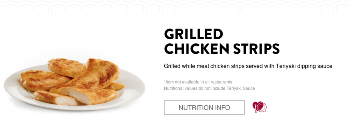 Who thought to pair the wheat-free chicken strip with the only NOT-wheat-free sauce?   I assume you can make substitutions, but seriously.  This is just ... so dumb.
