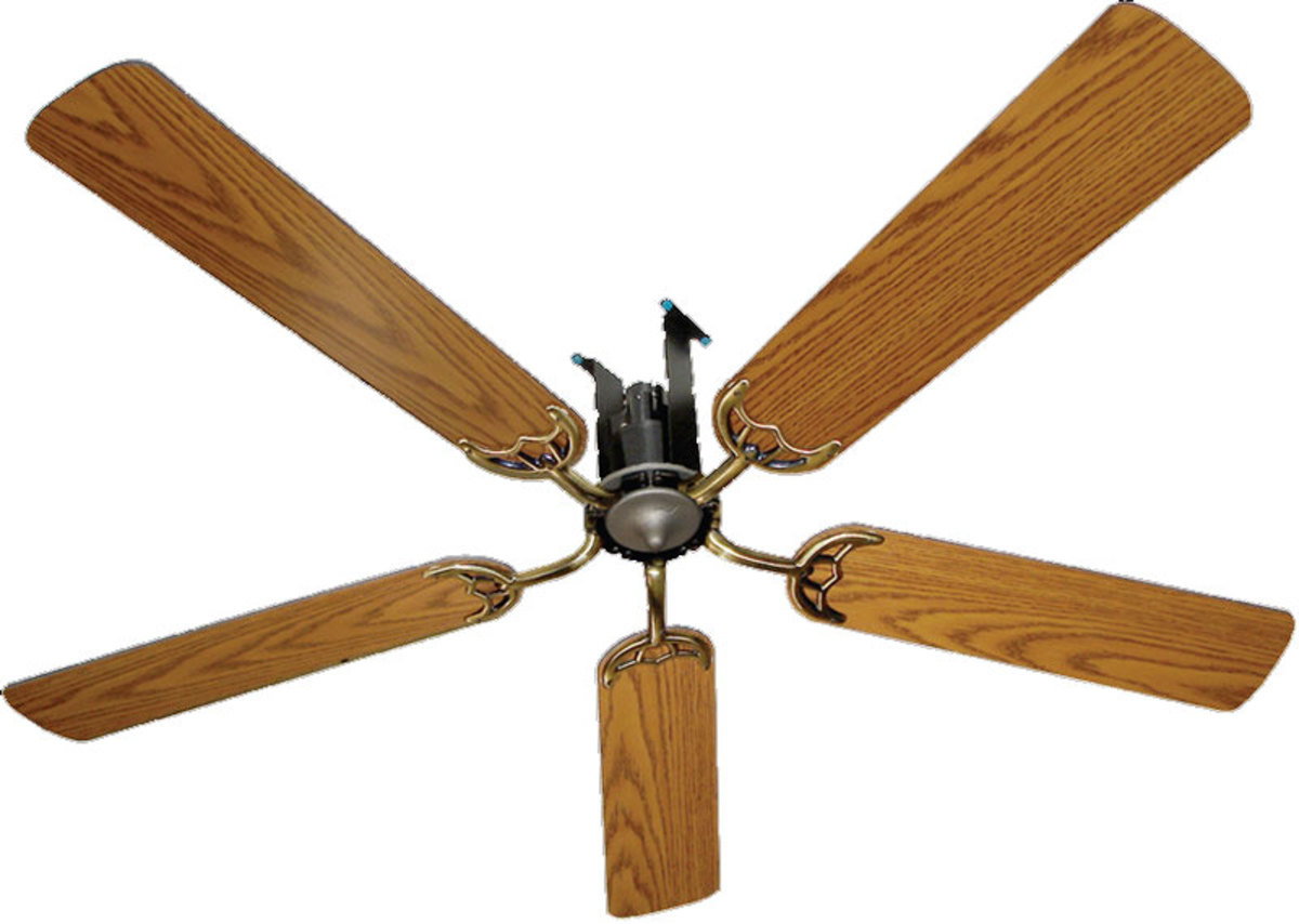 Amish Air Powered Ceiling Fans