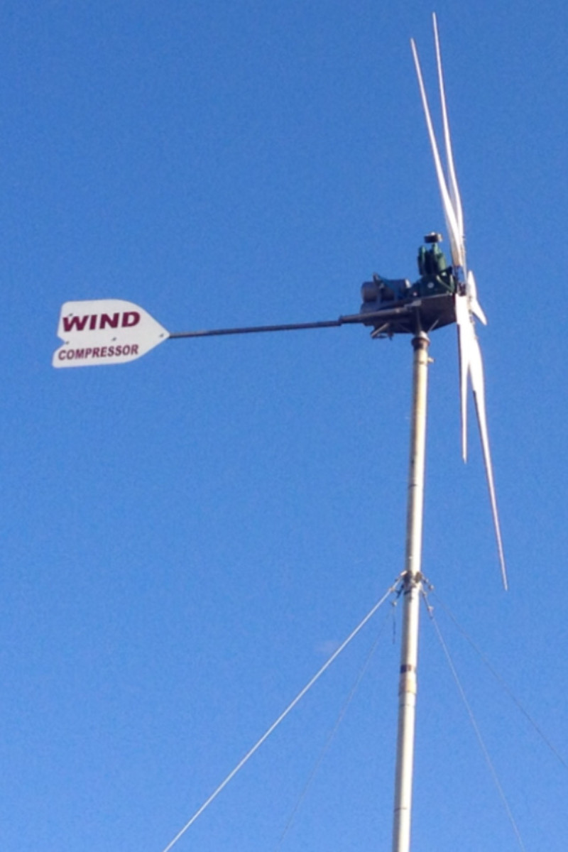 Wind Compressor Windmill