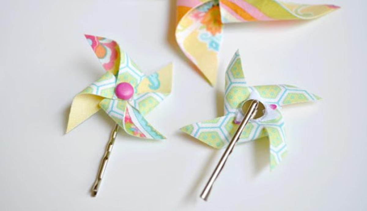 Fabric Pinwheels Tutorial