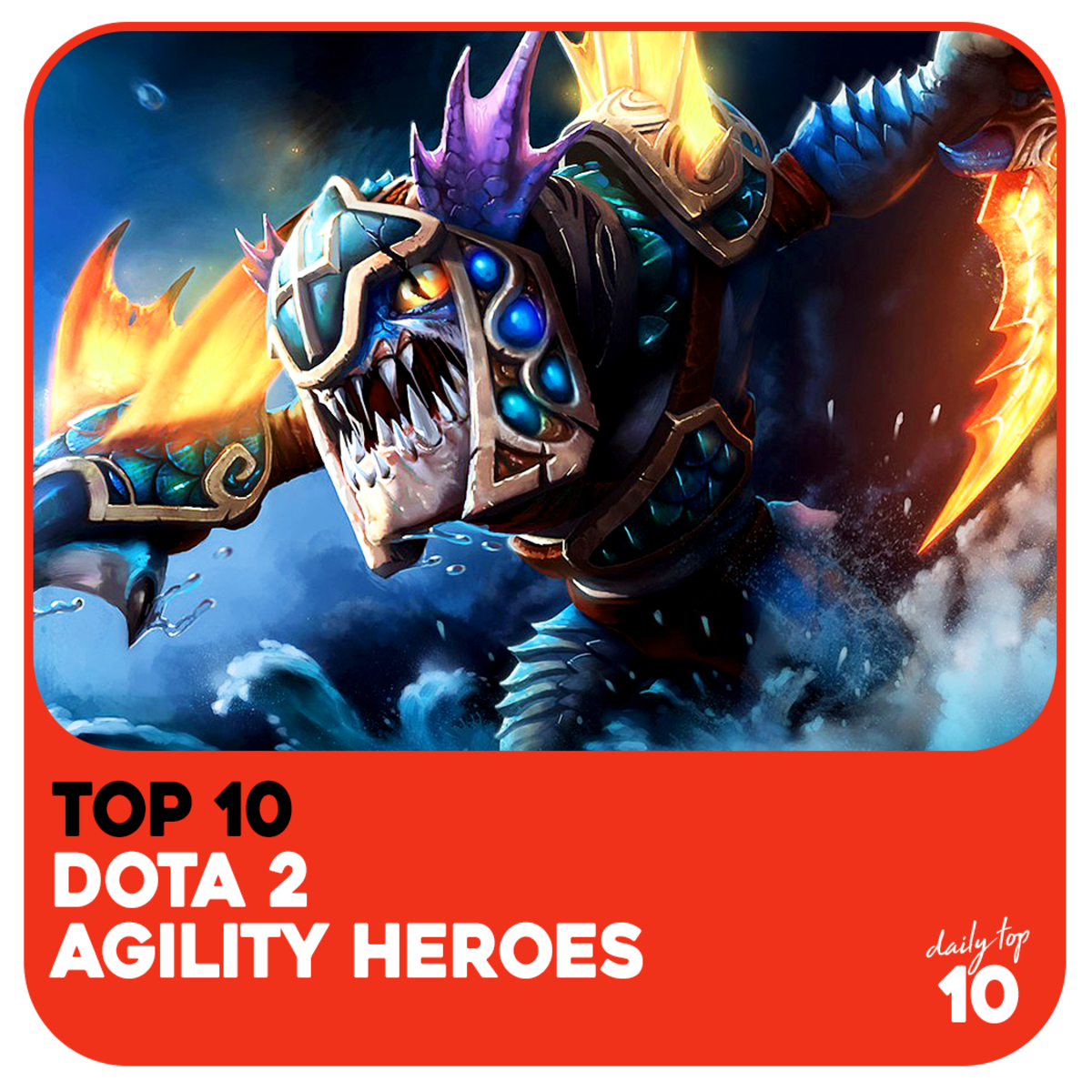 Top 10 Best Agility Dota 2 Heroes With Pictures Updated 2019