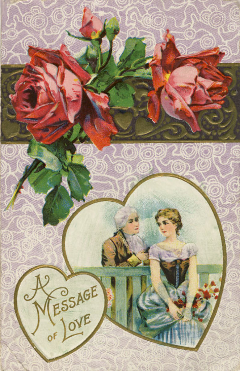 This card was postmarked in 1913.