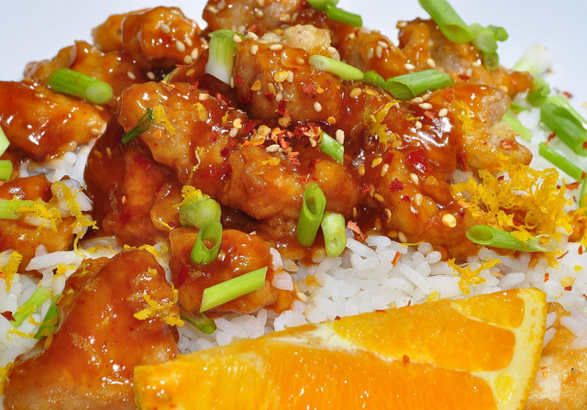 Orange Chicken: Breaded and Crunchy Like Takeout