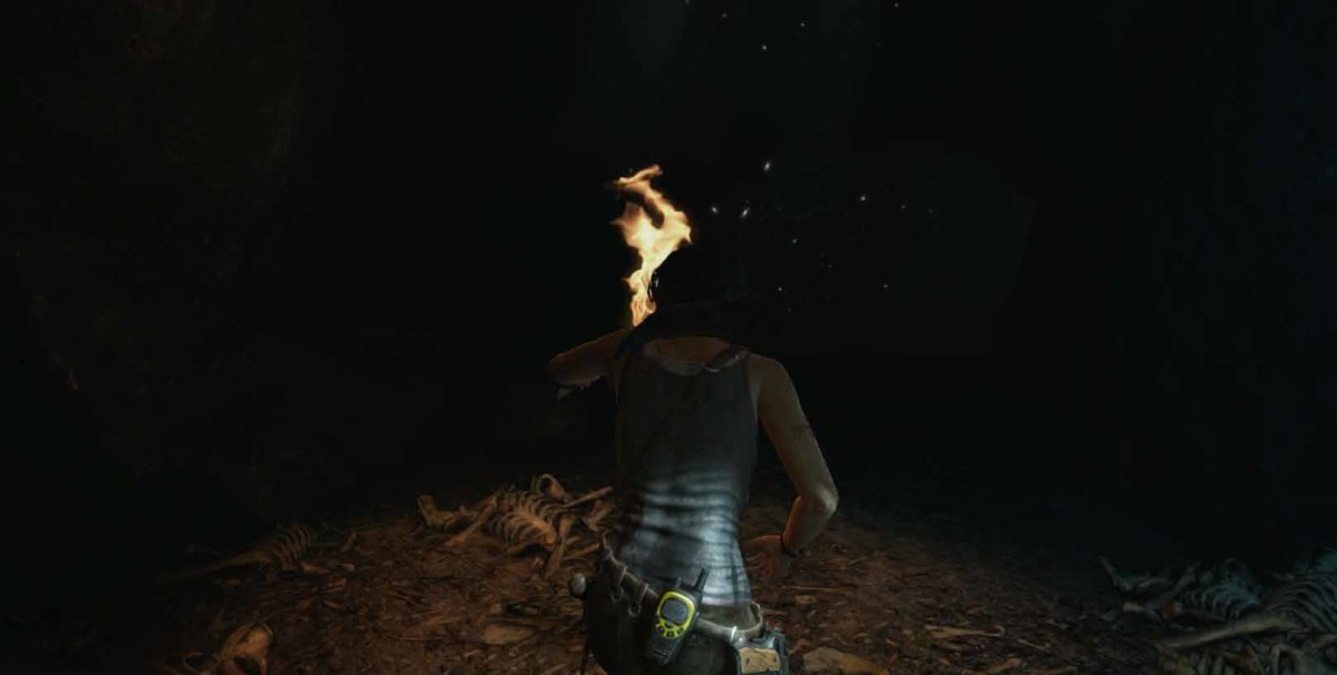 Tomb Raider venture into the black wolf's cave and get Roth's pack