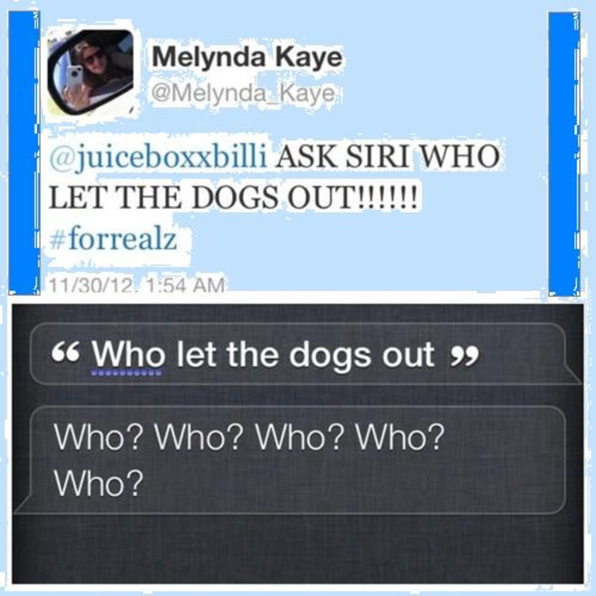 Funny Jokes And Quotes For Friends A Girl Says To Her: Funny Jokes To Ask Siri