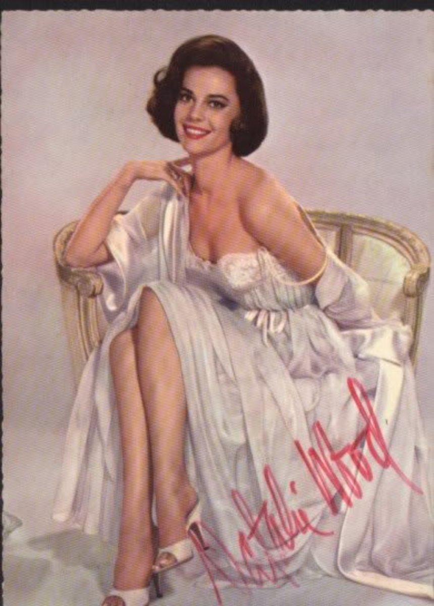 Natalie Wood was a beautiful talented lady.
