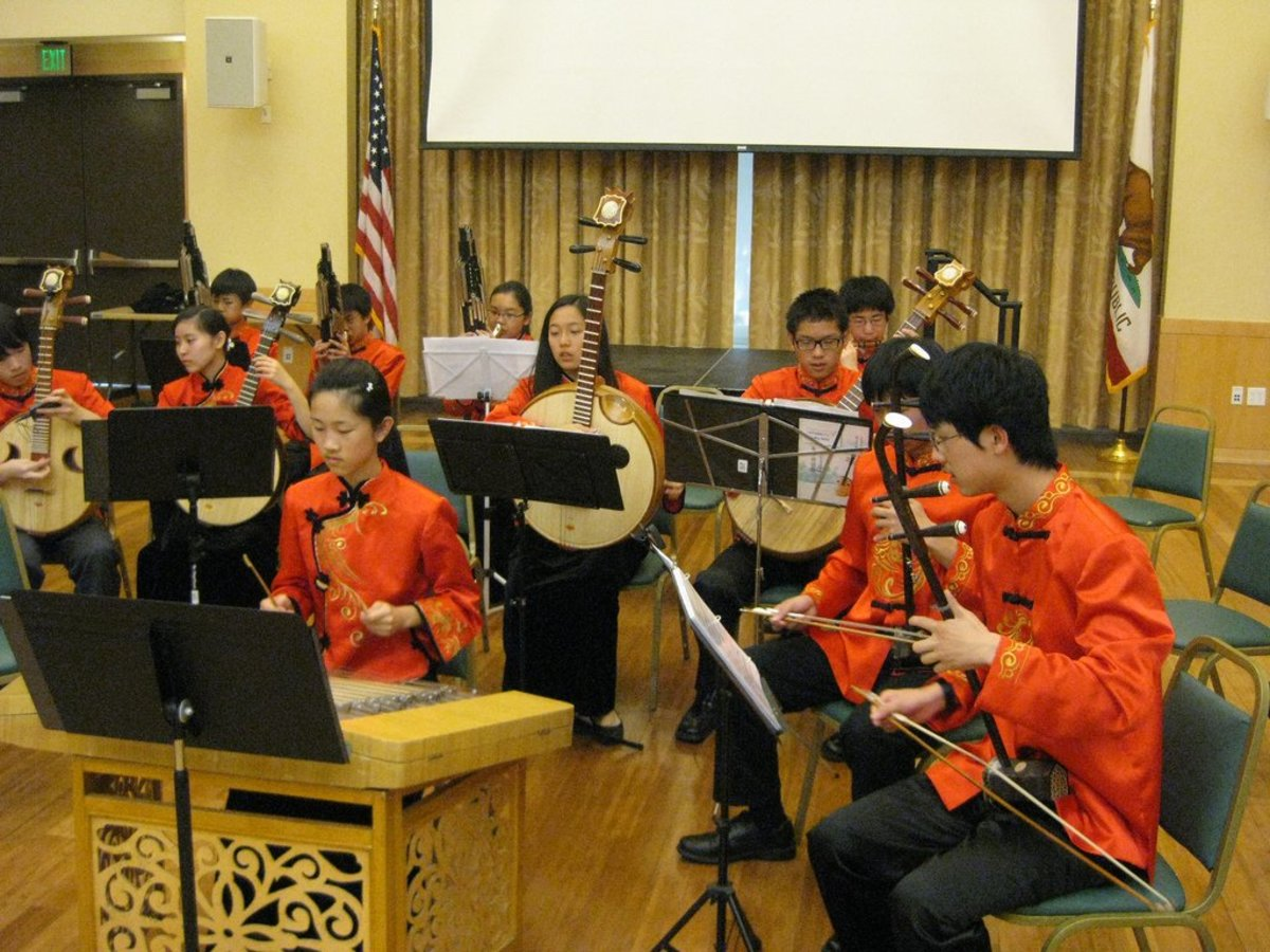 The modern Chinese Orchestra