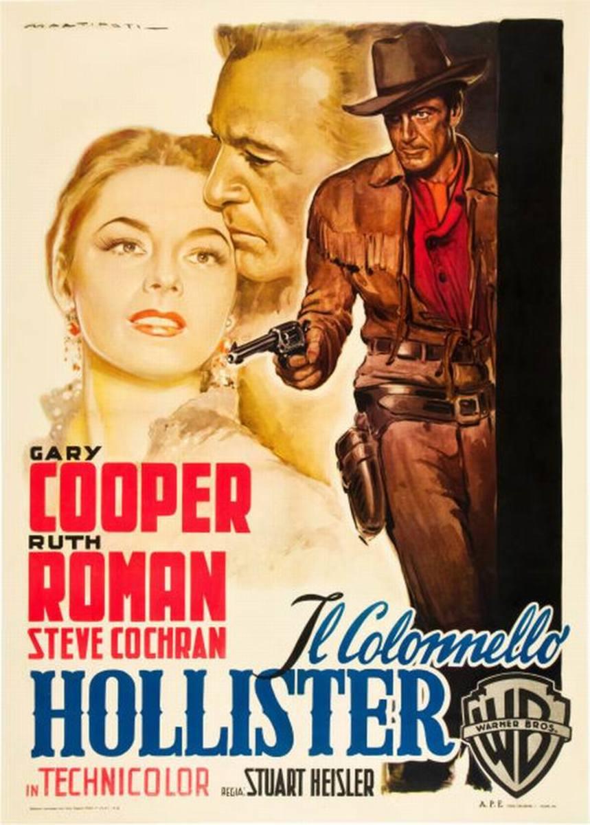 Dallas (1950) Italian poster