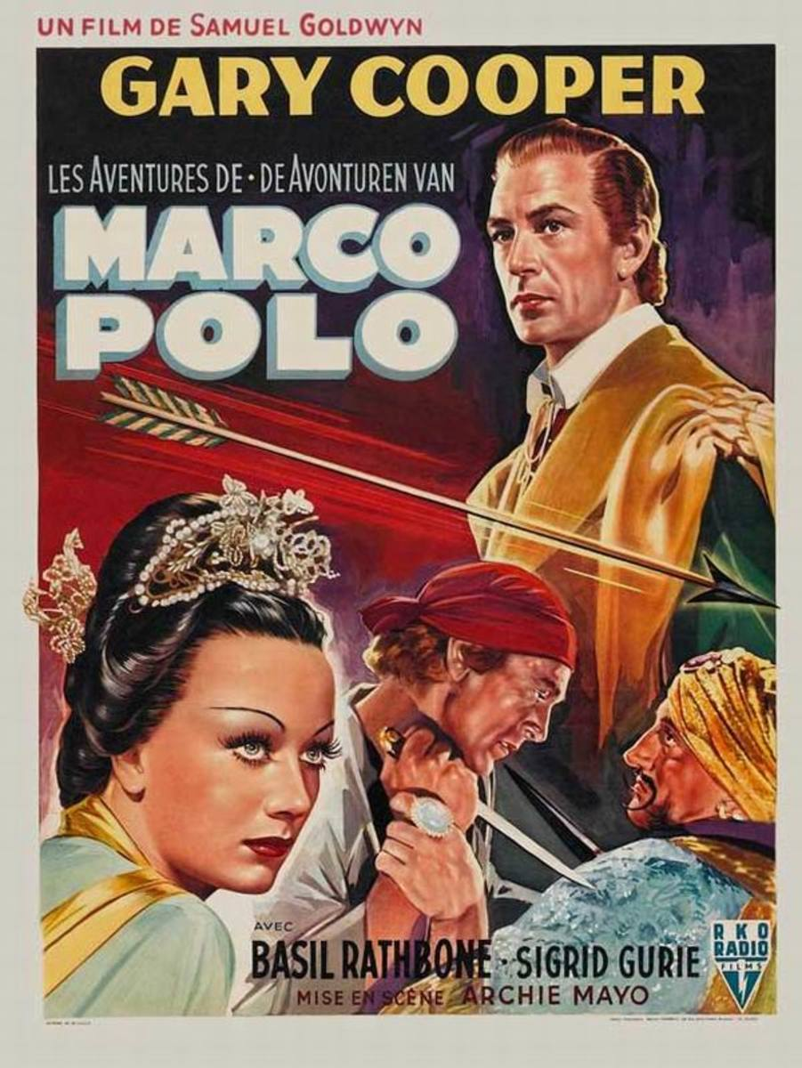 The Adventures of Marco Polo (1938) Belgian poster