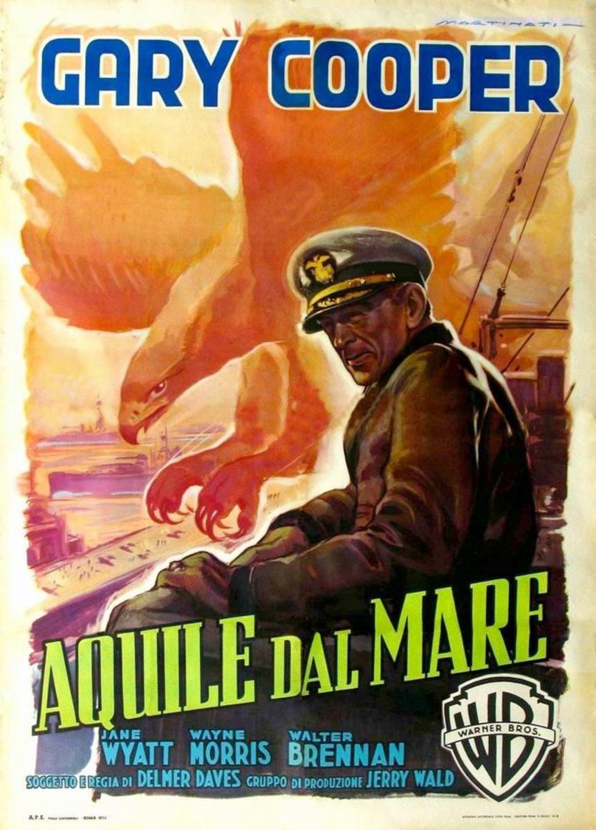 Task Force (1949) Italian poster