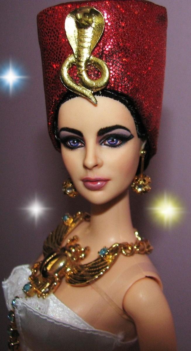 Elizabeth Taylor Barbie Doll Cleopatra