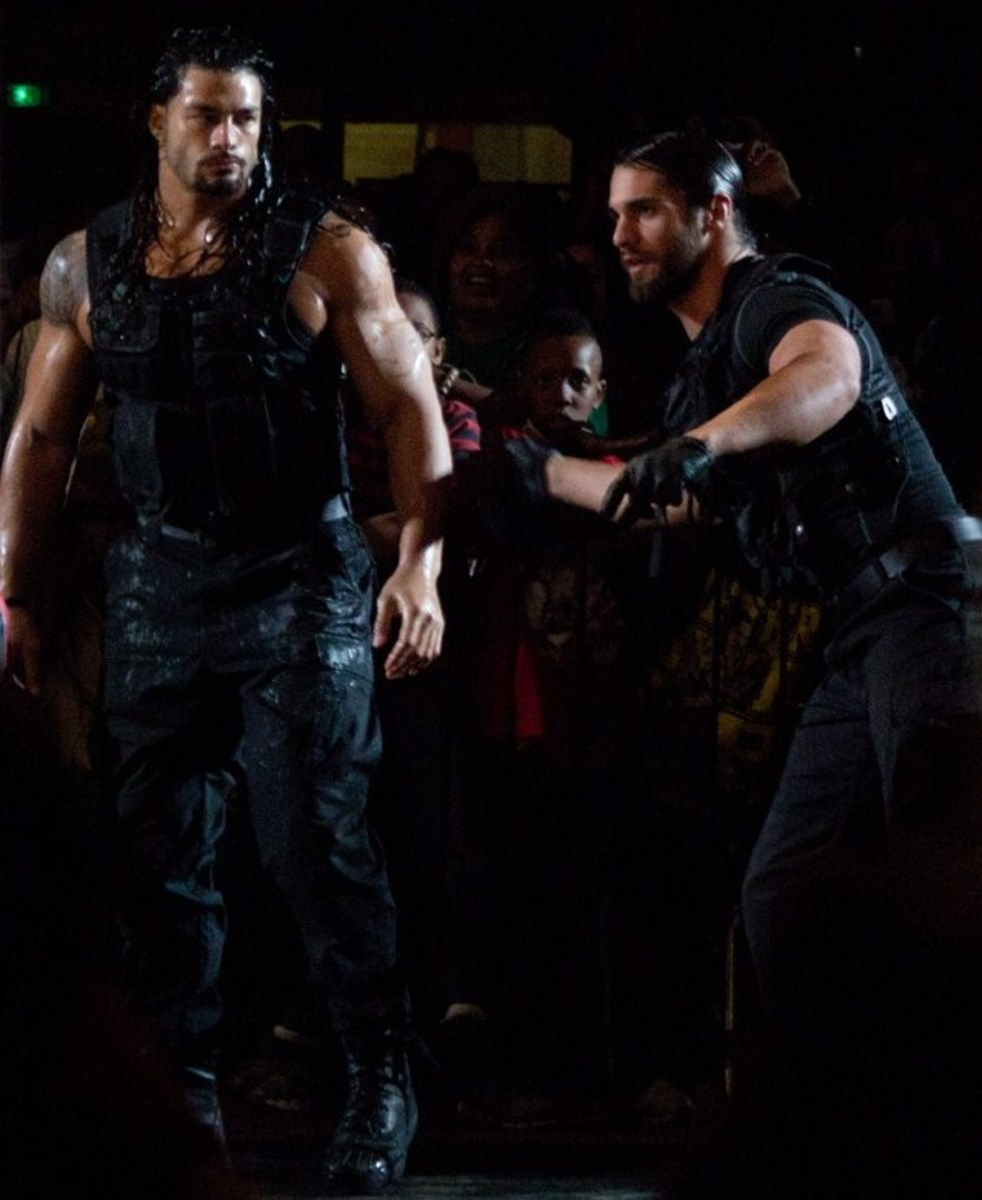 Roman Reigns of Seth Rollins of The Shield, 2013
