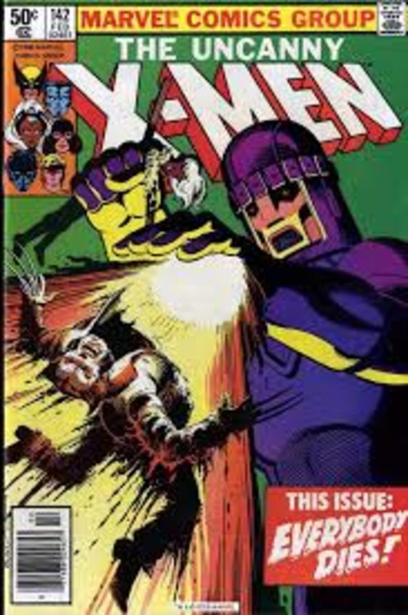 Uncanny X-Men # 142, in this issue everybody dies, er no they don't.