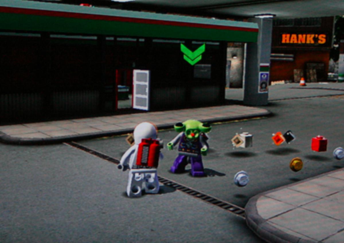 LEGO City Undercover walkthrough: Alien Locations