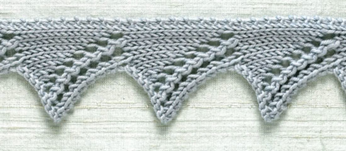 How Do I Knit Lace Edgings