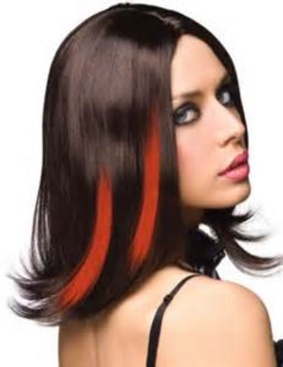 Orange streaks