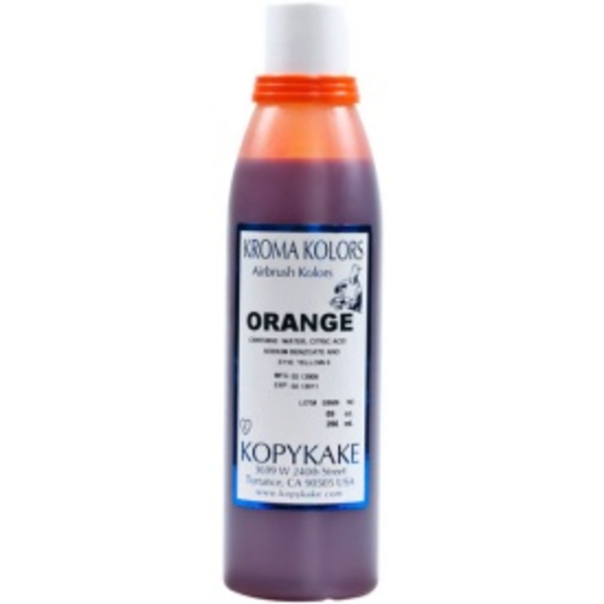 Orange food coloring