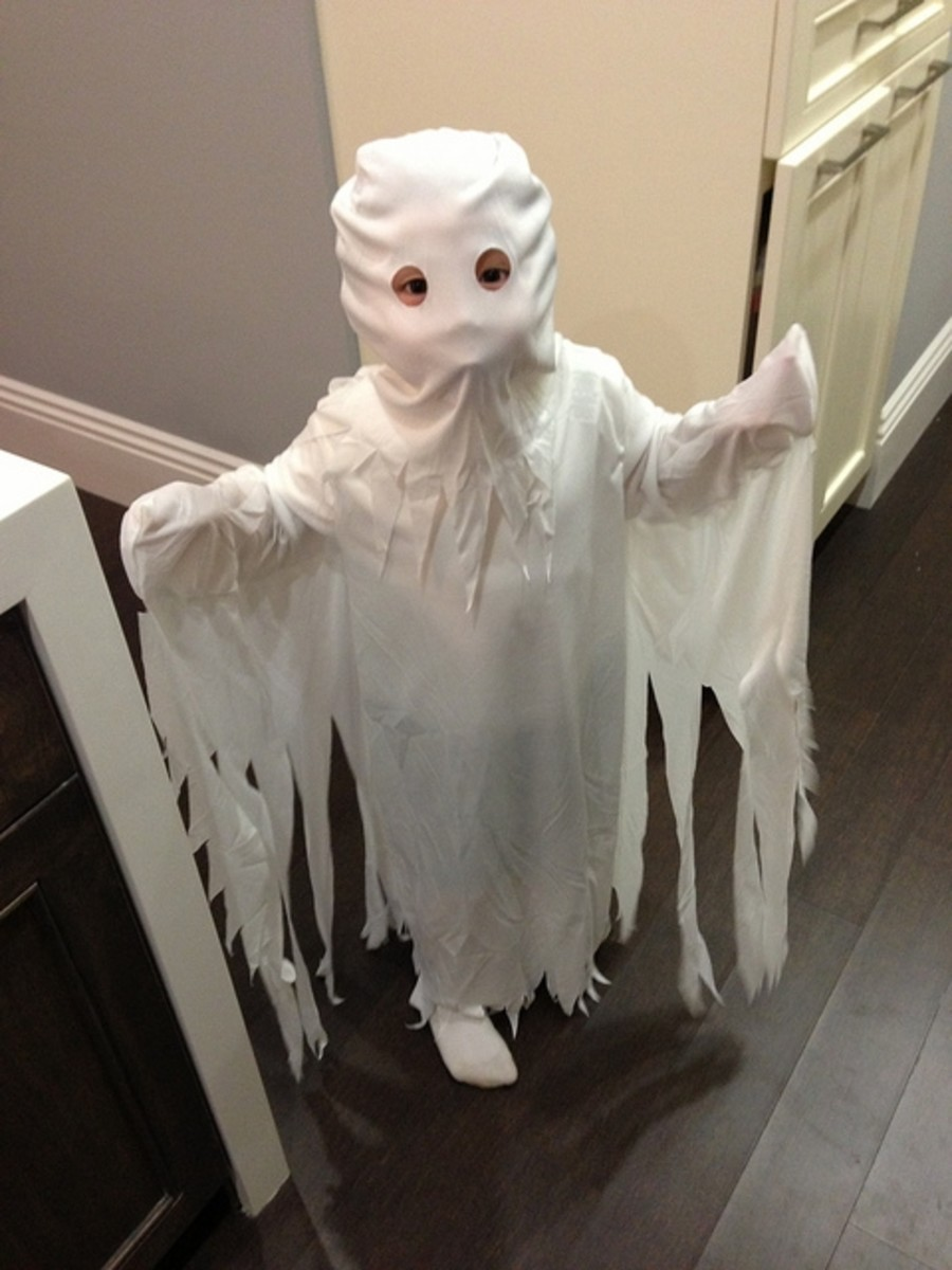 Homemade Ghost Costume Ideas Halloween Fancy Dress For & Ghost Costume Diy - Meningrey