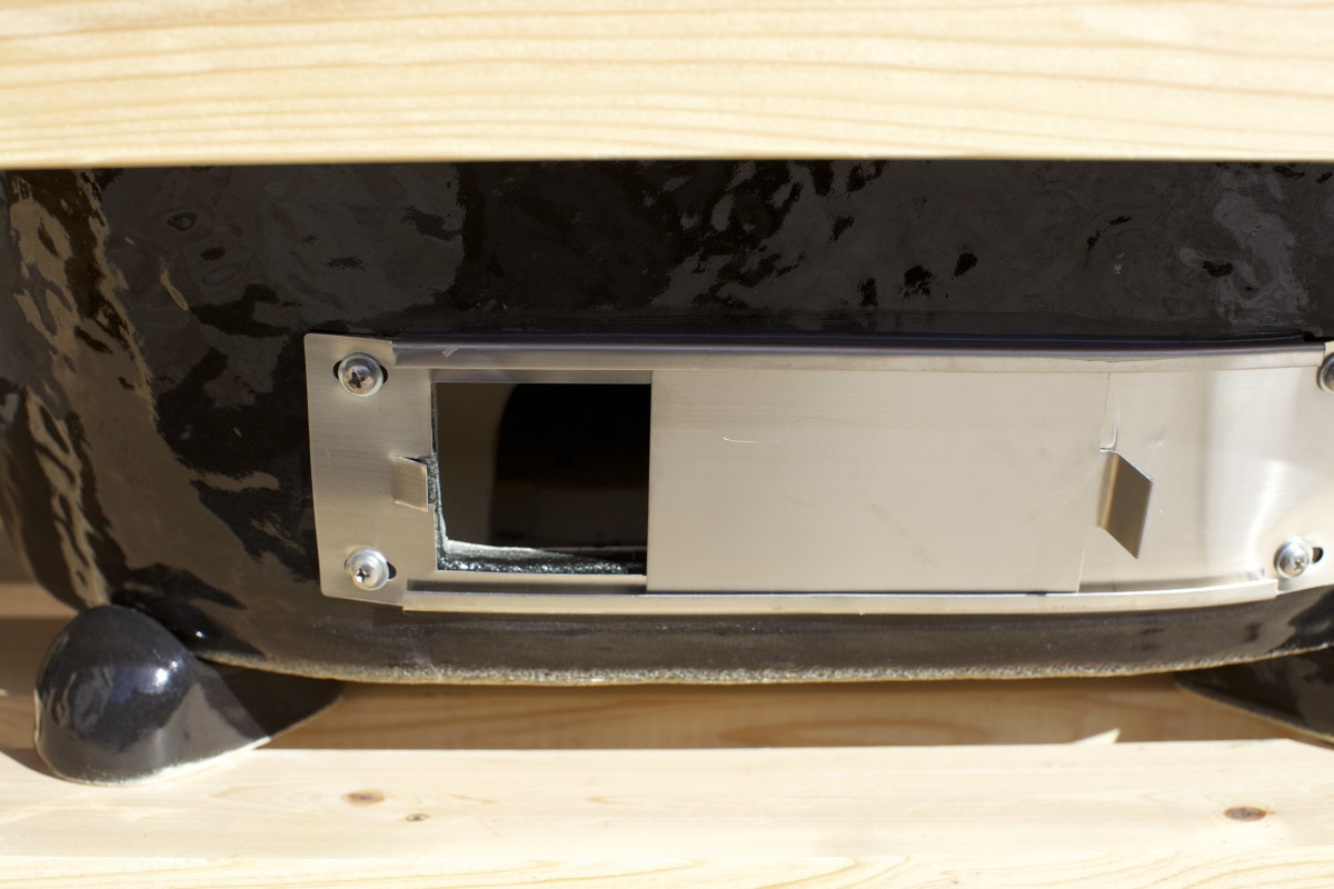 Primo Oval XL bottom airflow control vent