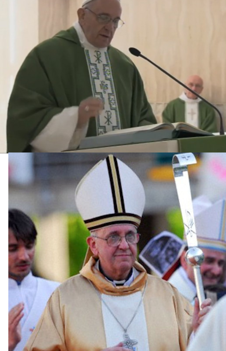 Pope Frances and the Chi rho