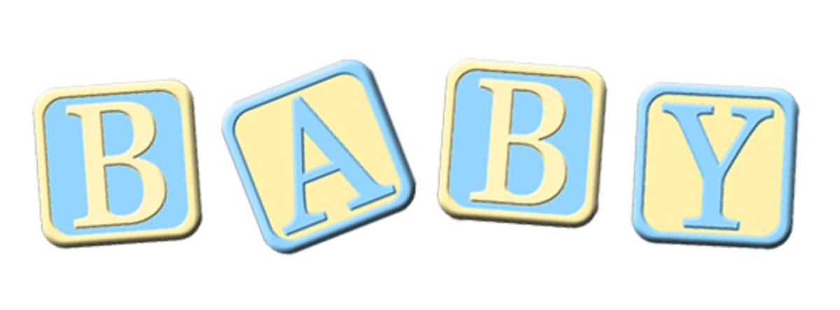 Blue Baby Boy Clip Art