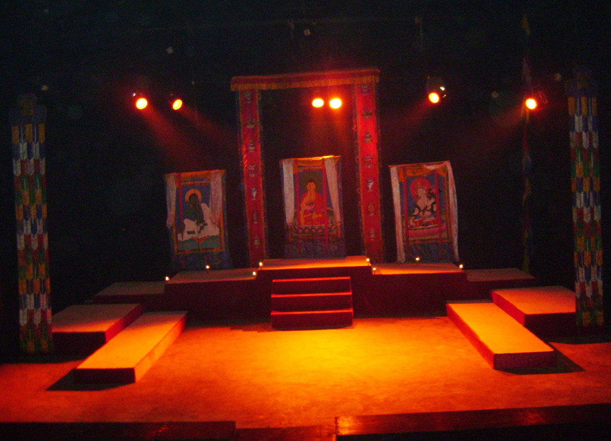 Proscenium Theater Stage