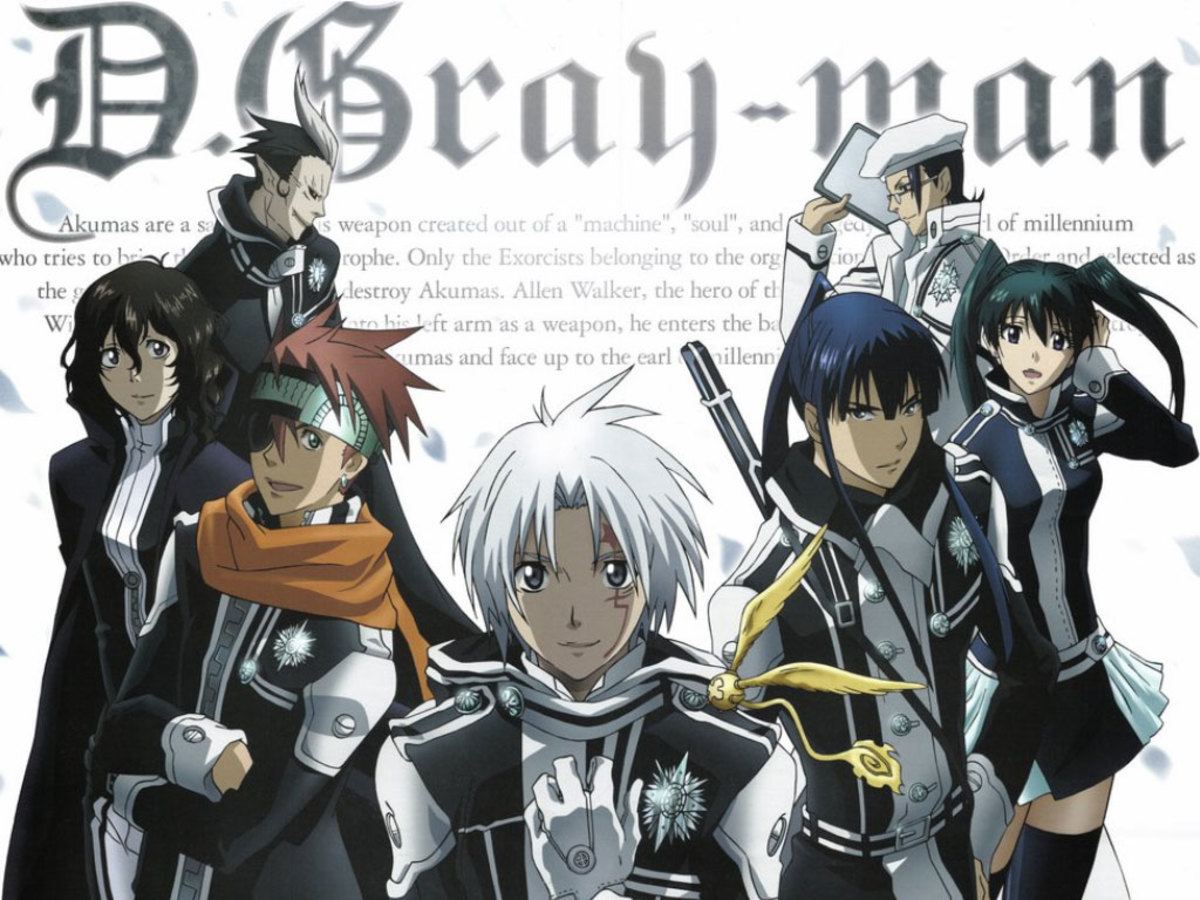 6 Good Anime like D.Gray-man