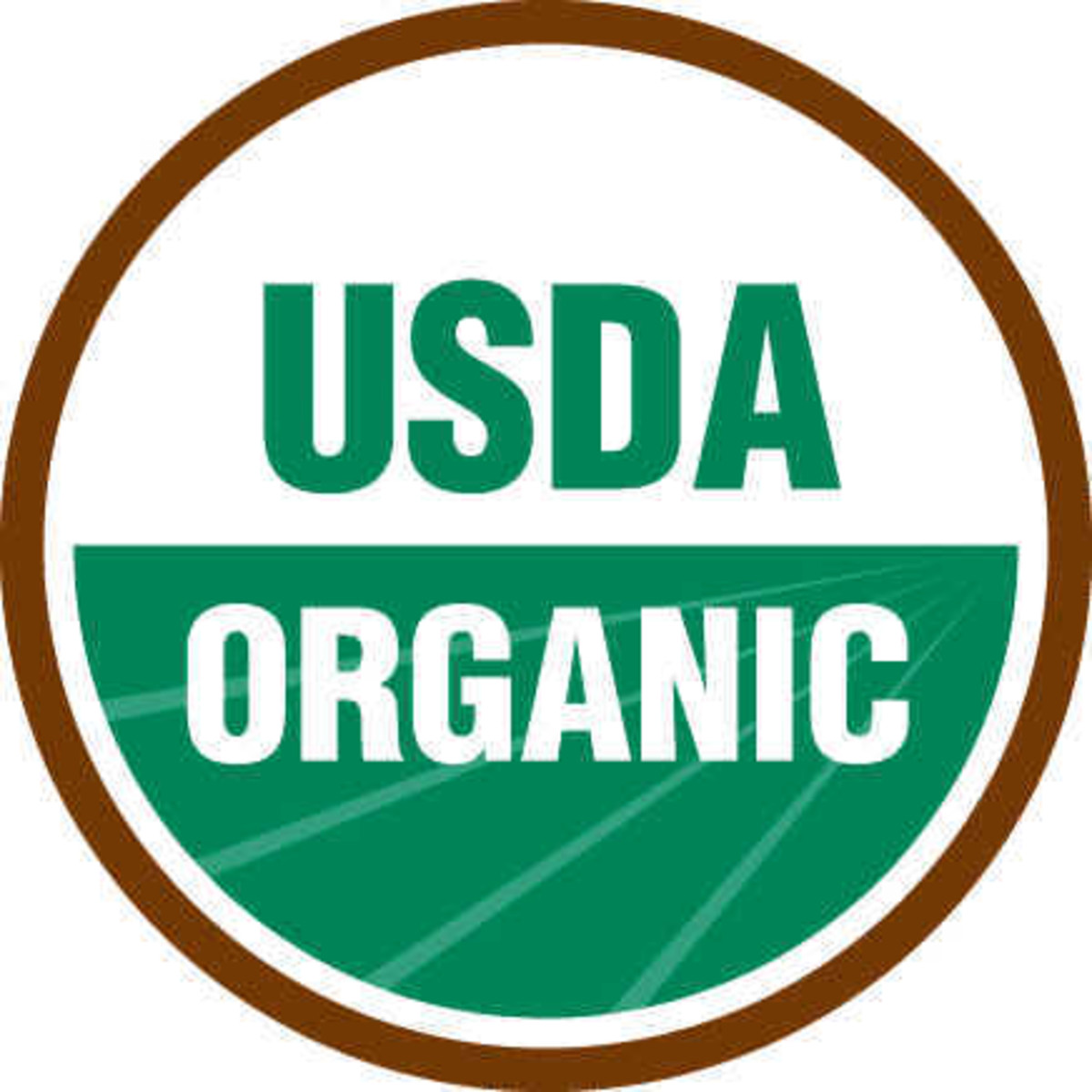 The United States official organic symbol.
