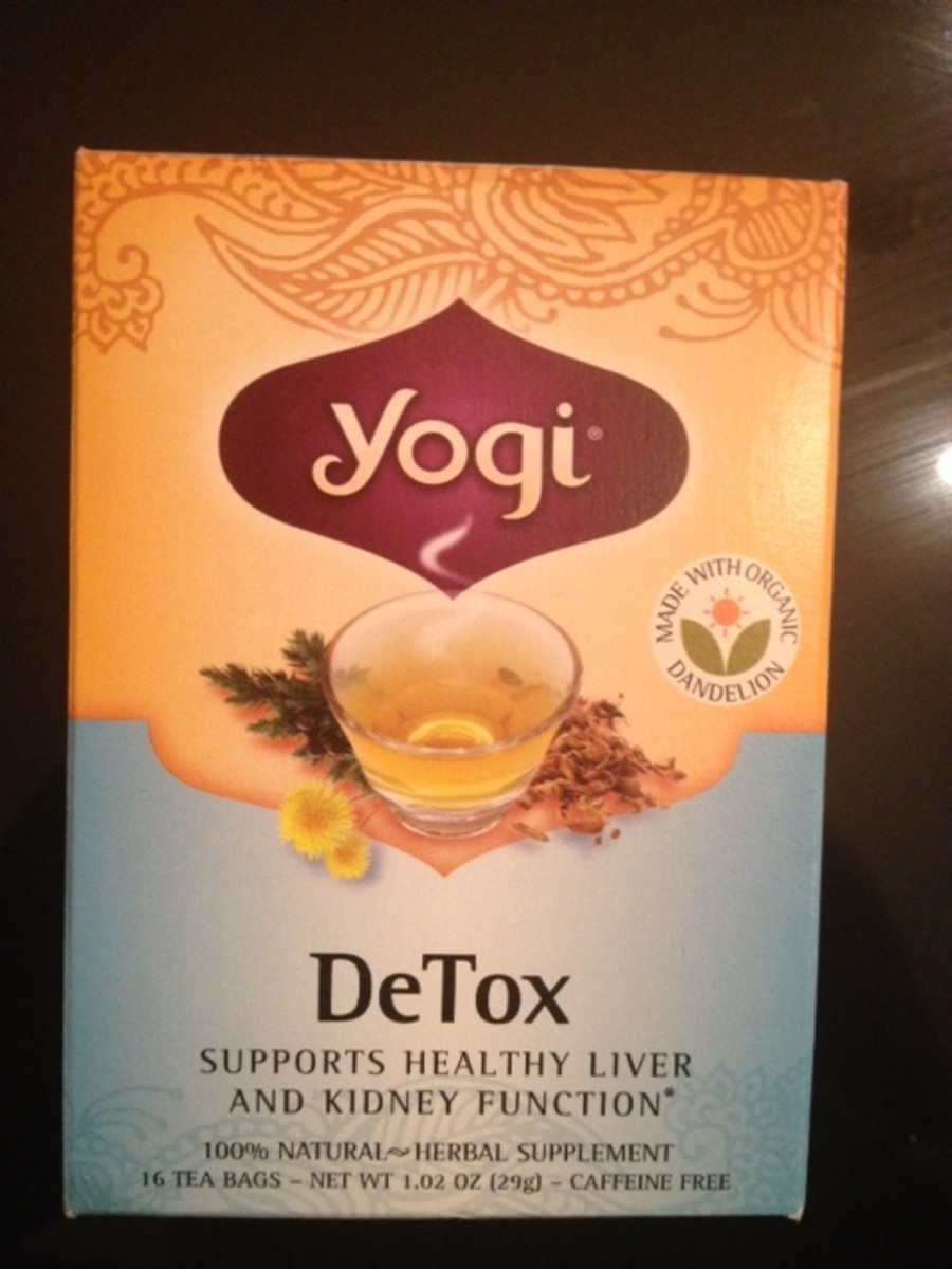 Yogi Detox and Ginger Teas Product Review