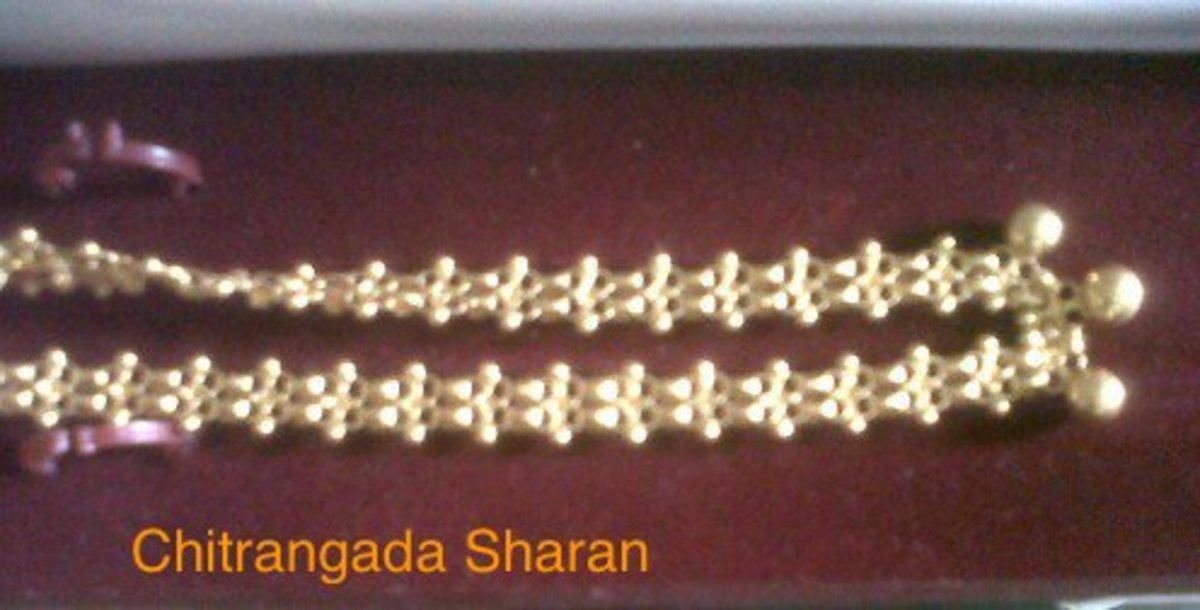 Gold necklace for regular use