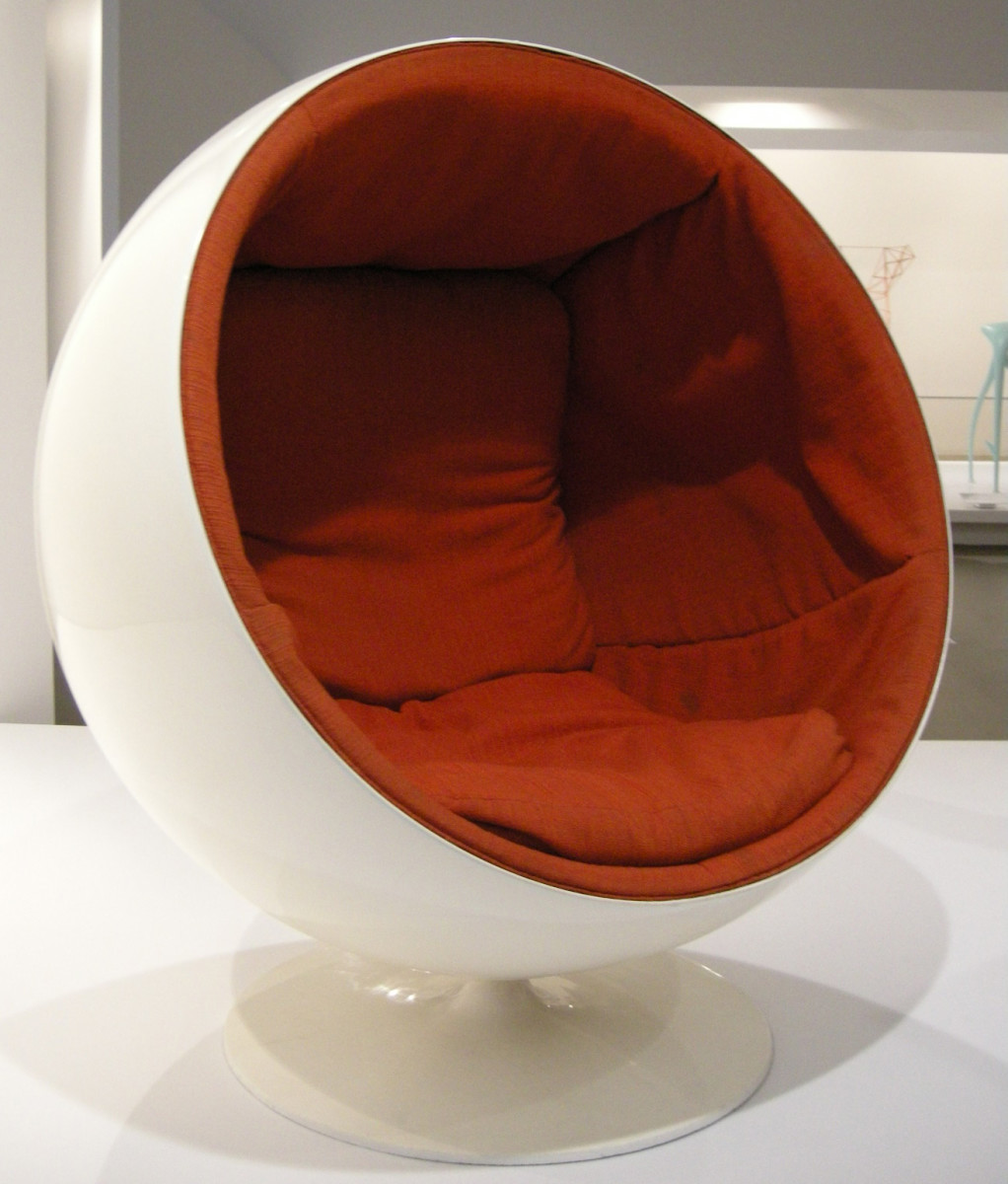 Ball Chair, by Eero Aarnio, 1963