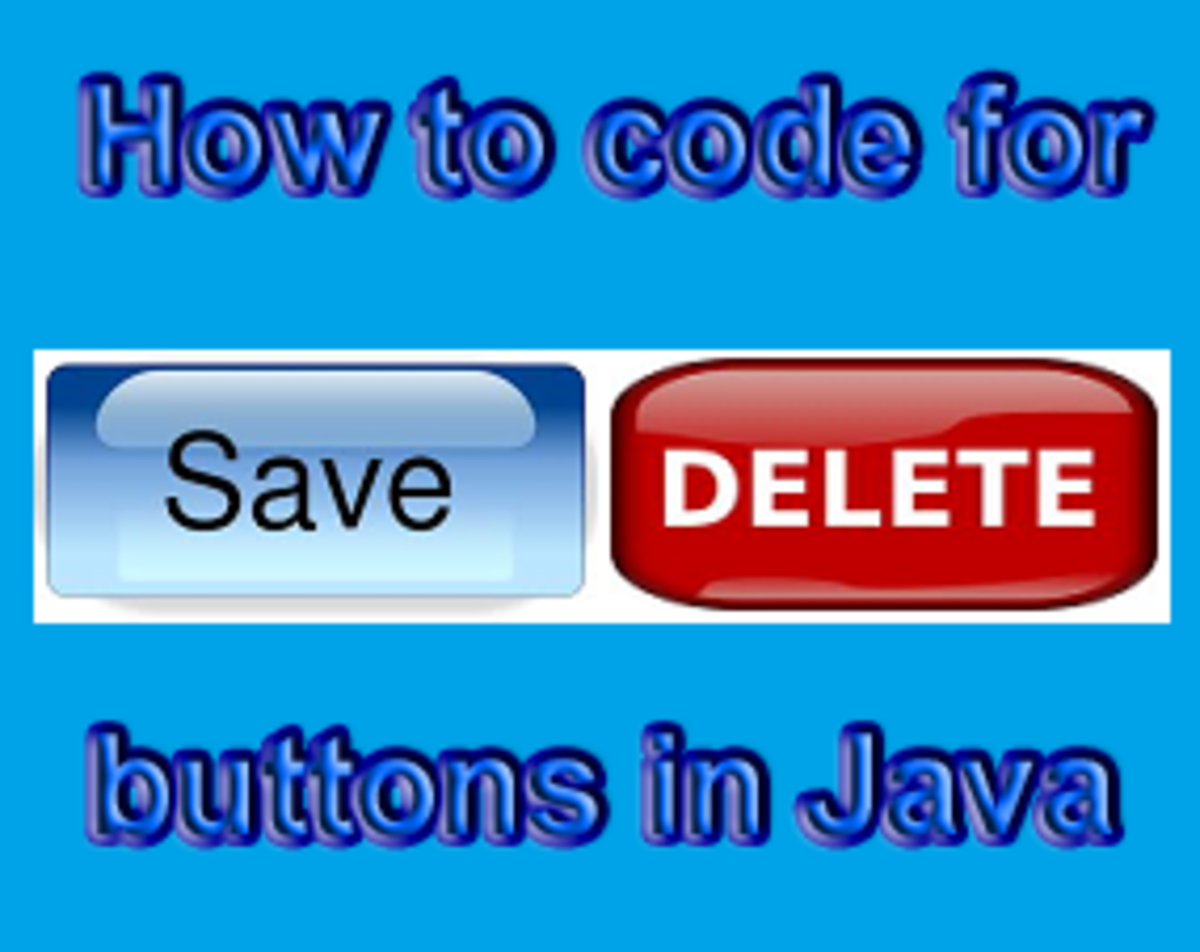 How To Code For Save And Delete Buttons In Java NetBeans