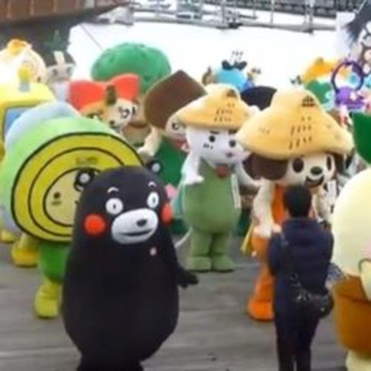 Mascots of Japan