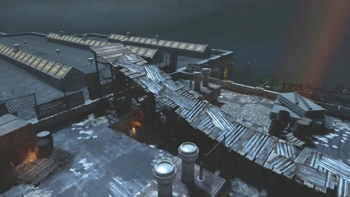 The Roof in Alcatraz, Mob of The Dead - Call of Duty: Black Ops 2, Zombies