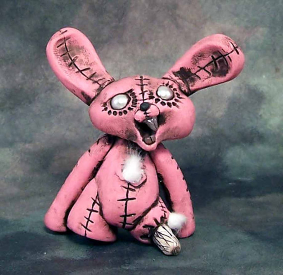 This is no Velveteen Rabbit that's for sure!