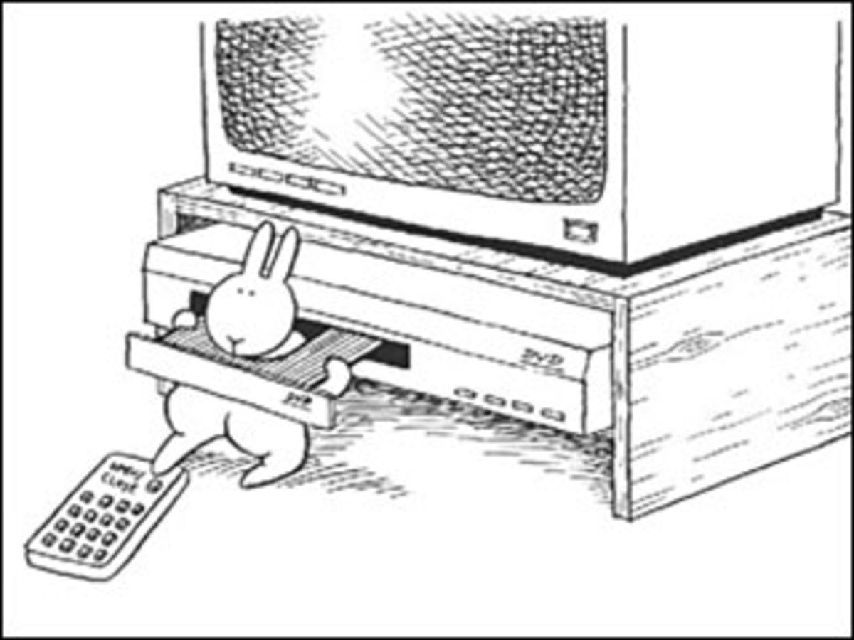 The Book of Bunny Suicides - coming to a coffee table near you.