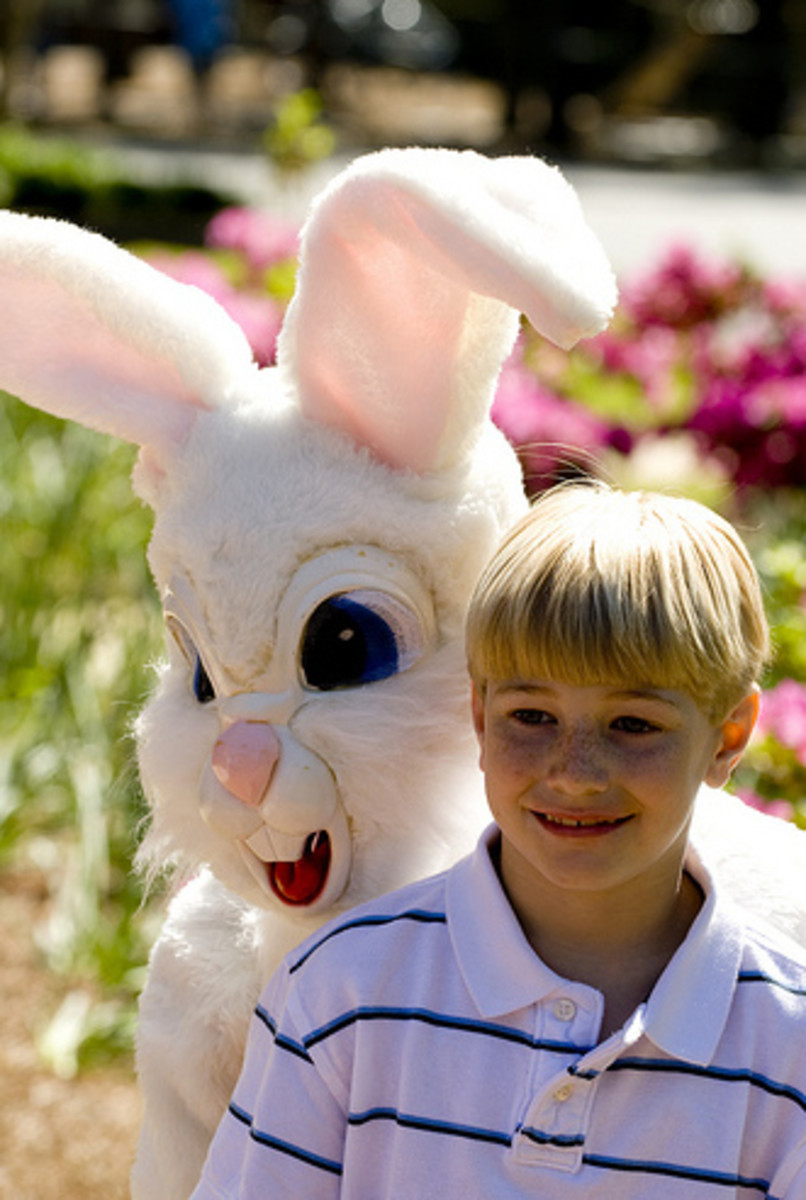 You better not shout, you better not cry, I'm telling you why.... Angry Easter Bunny is coming to tooown!