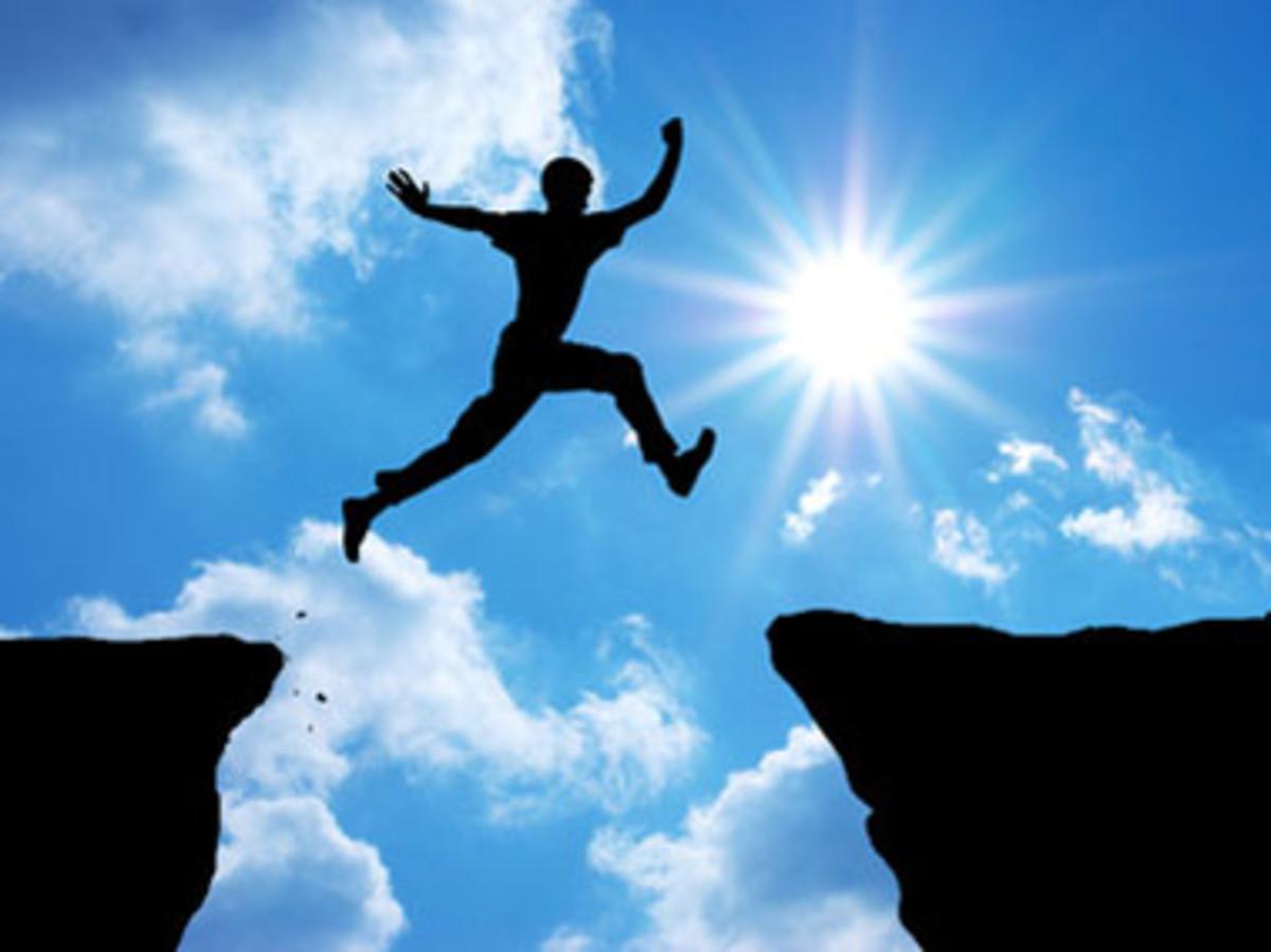 Taking that final leap...