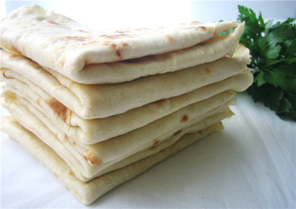 Flat Bread Recipe - Traditional Armenian Lavash