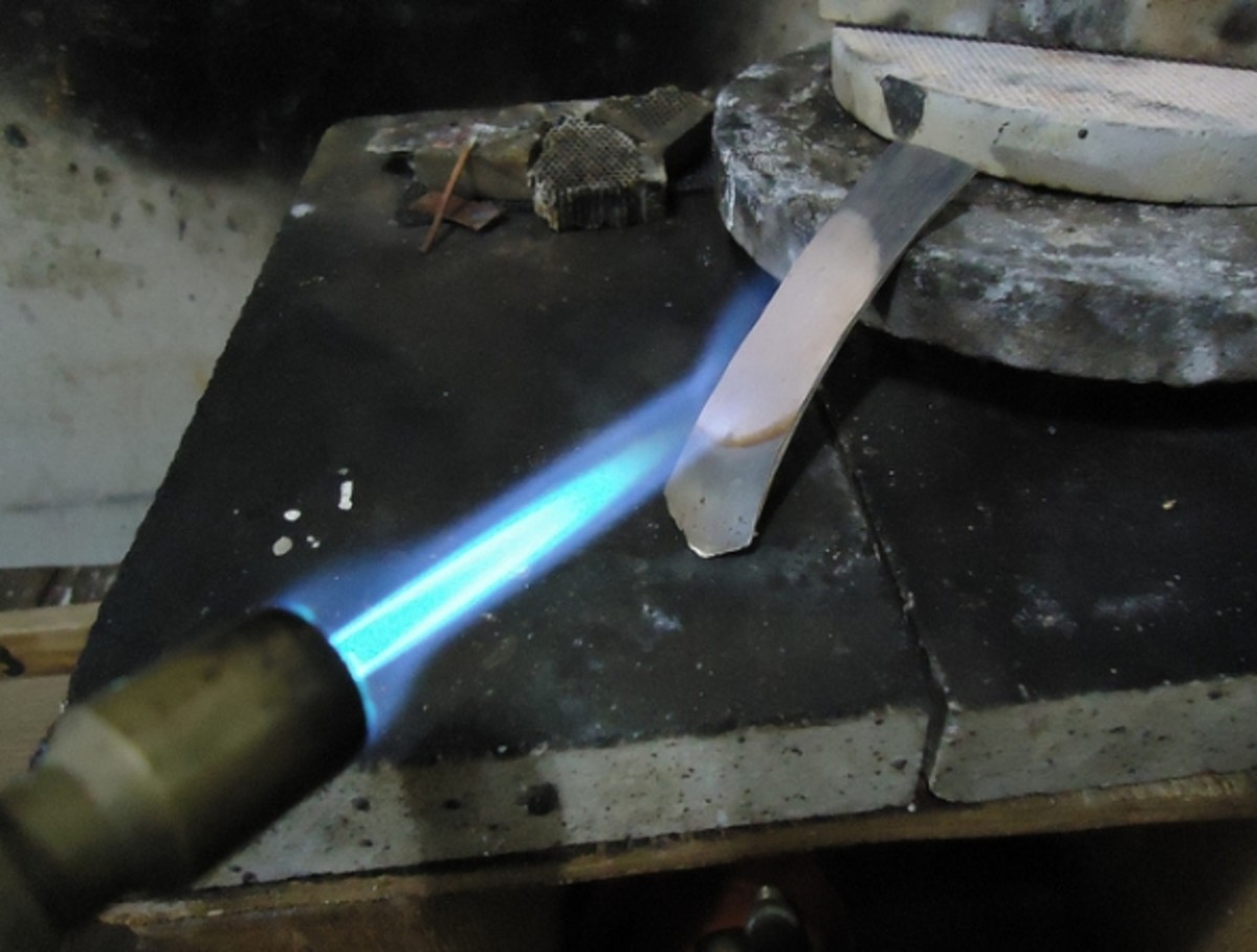 If you want to advance in metalwork, you will need a mini torch in order to anneal or solder metal.