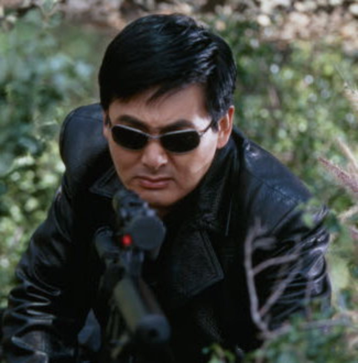 Chow Yun Fat hairstyle.