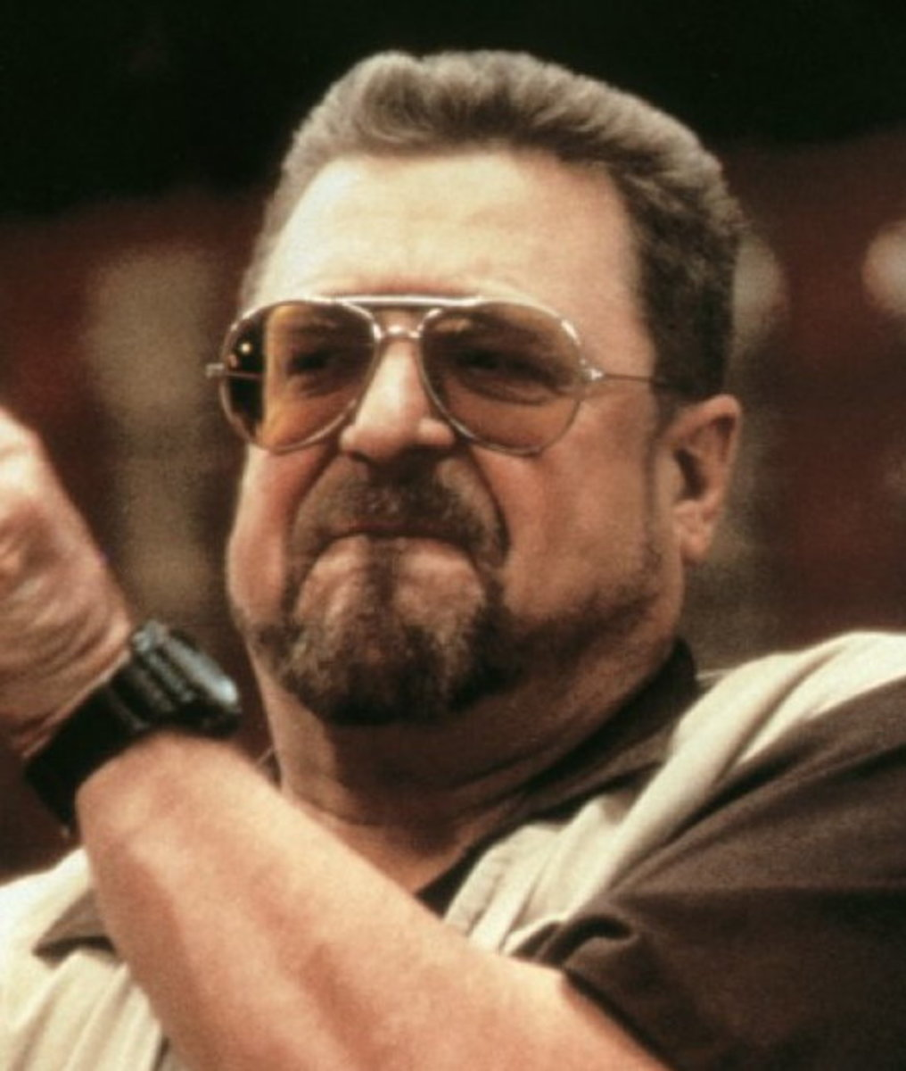 John Goodman with cool facial hair.