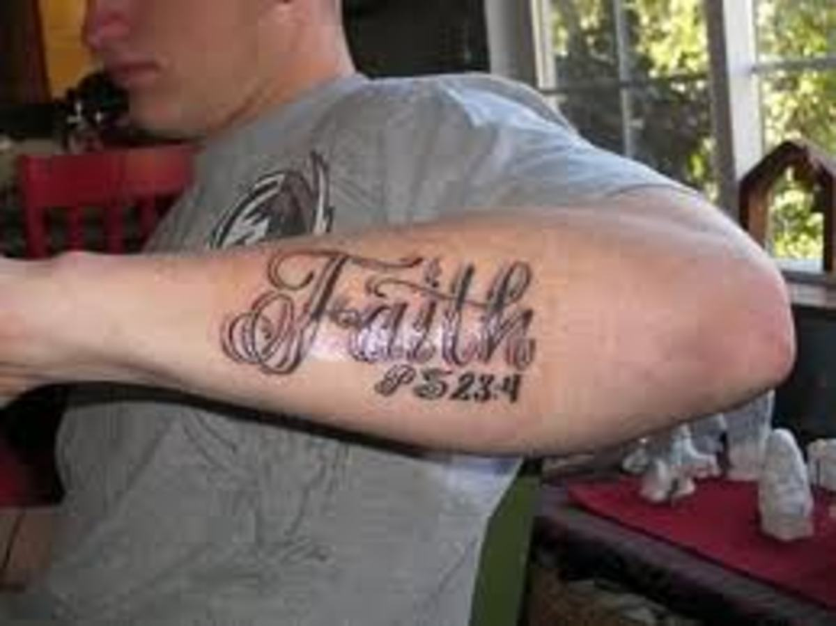 faith tattoos and designs faith tattoo meanings and ideas hubpages. Black Bedroom Furniture Sets. Home Design Ideas