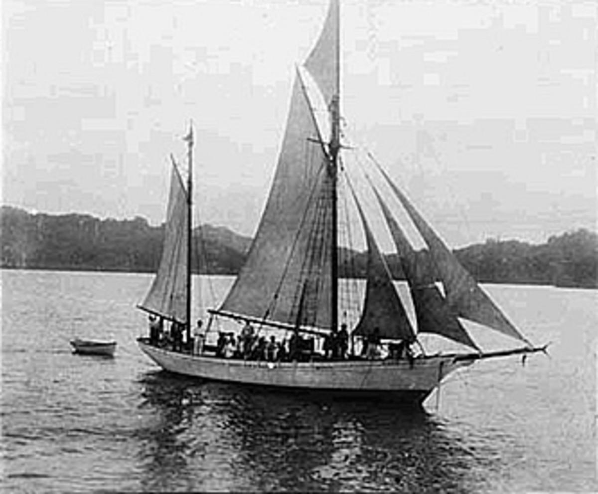 Jack London's boat, The Snark