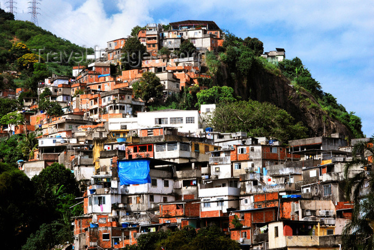 These are how real favelas look like