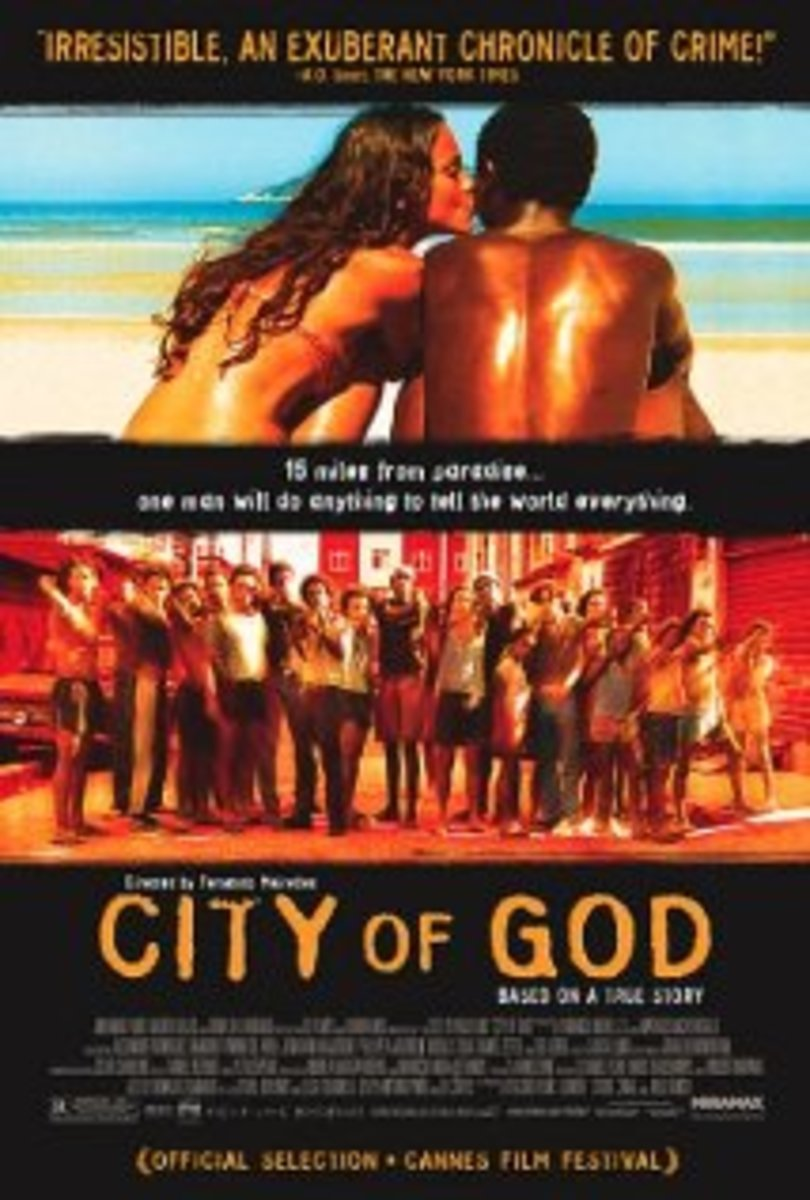 One of the many posters of the City of God Movie