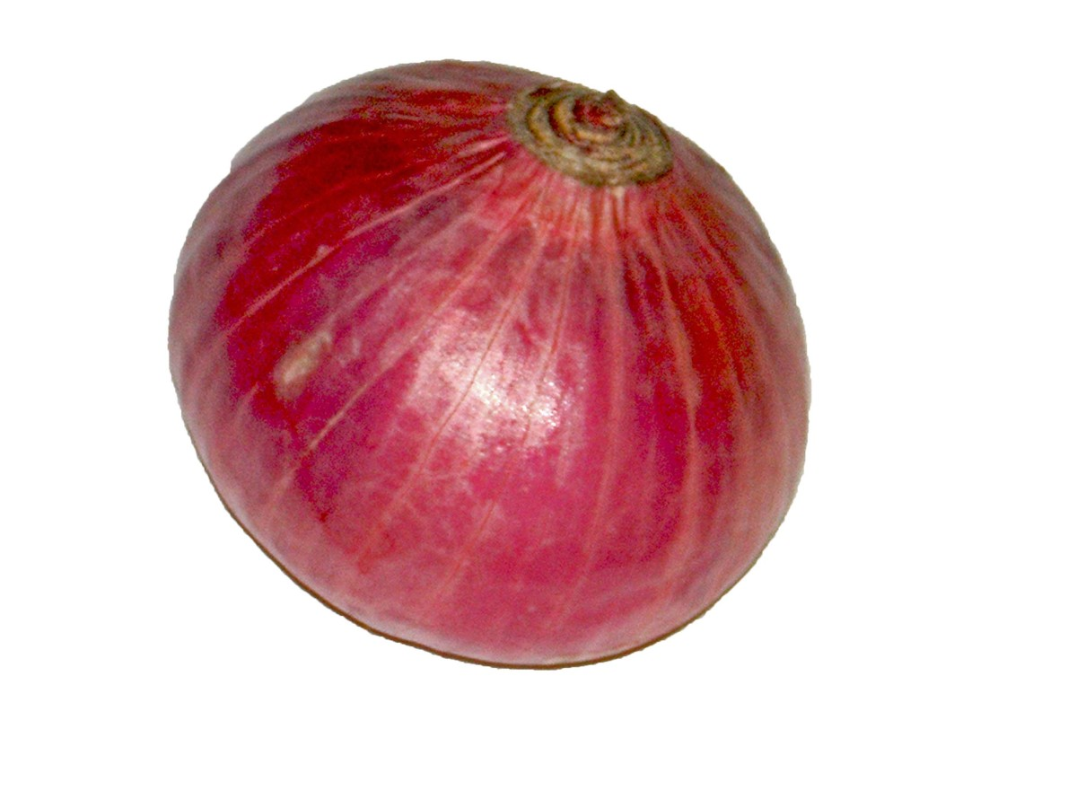Picture of an onion