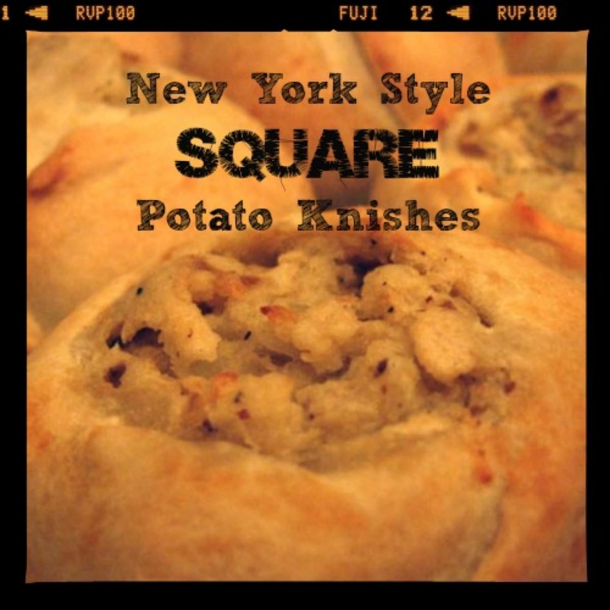 New York Style Square Potato Knich Recipe