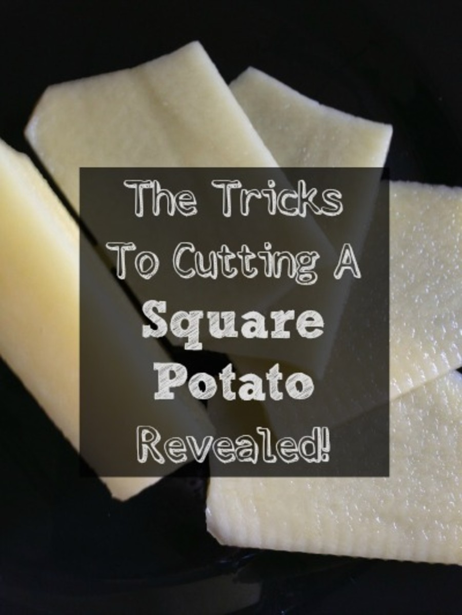 How Can I Easily Cut A Potato? How Can I Cut A Square Potato?